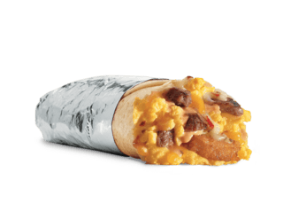 Steak & Egg Breakfast Burrito
