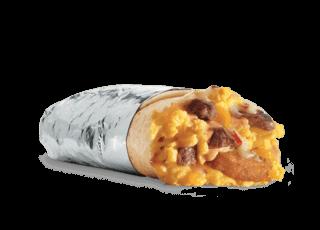 Steak & Egg Breakfast Burrito