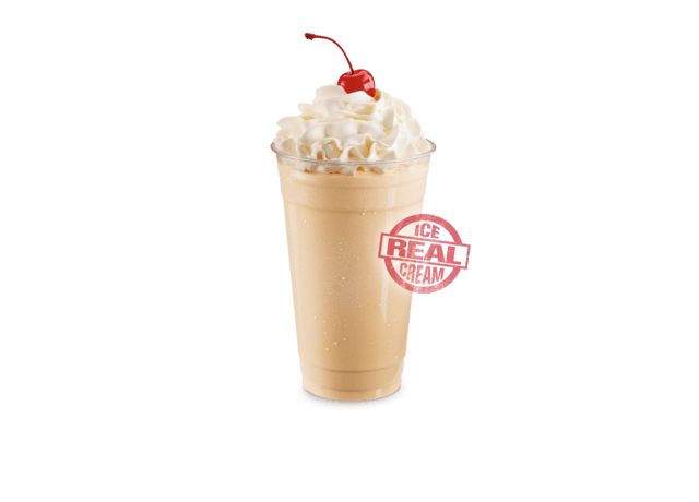 Egg Nog Ice Cream Shake