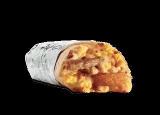 Grande Sausage Breakfast Burrito