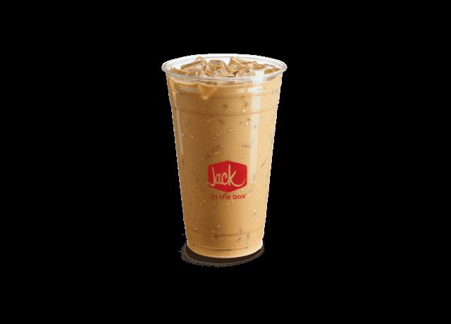 Hazelnut Iced Coffee