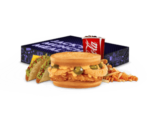 Spicy Nacho Chicken Sandwich Munchie Meal